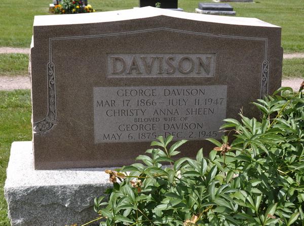 Edward Davison charles edward davison